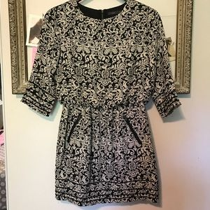 Anthropologie THML Black dress size medium